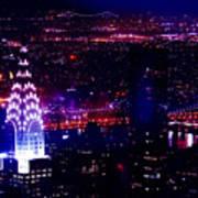 Beautiful Manhattan Skyline Poster