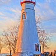Beautiful Marblehead Lighthouse Poster
