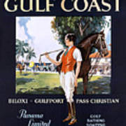 Beautiful Mississippi, Gulf Coast Poster