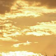 Beautiful Morming Sky  Poster
