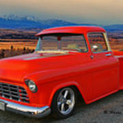Beautiful Pick Up Truck Poster