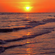 Beautiful Sanibel Sunset Poster