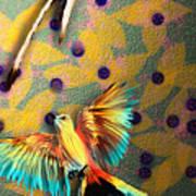 Beautiful Scissor-tailed Flycatchers Poster