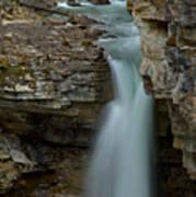 Beauty Creek Blue Falls Poster