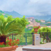 Beauty In Capri Poster