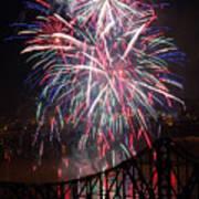 Beaver County Fireworks  Poster