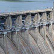 Beaver Dam Spillway Gates Poster
