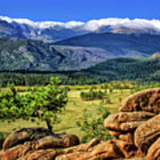 Beaver Meadows In Rocky Mountain National Park Poster