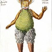 Beelzebub, Or The Devil, 1775 Poster