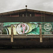 Beer Barge - Iquitos, Peru Poster