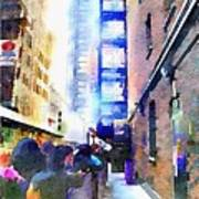 Behind Broadway Poster