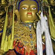 Bejeweled Buddha Poster