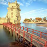 Belem Tower Lisbon Poster