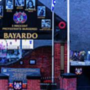 Belfast Mural - Bayardo - Ireland Poster