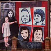 Belfast Mural - Ireland Poster