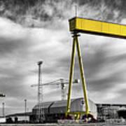 Belfast Shipyard 2 Poster