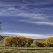 Belfry Fall Landscape 6 Poster