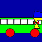 Belinda The Bus Poster