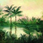 Belize River Poster