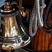 Bell On Schooner Virginia Poster