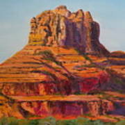 Bell Rock In Sedona Arizona - High Res. Poster