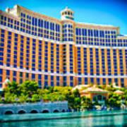 Bellagio Hotel And Casino Poster