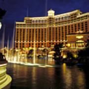 Bellagio Hotel In Las Vegas Poster