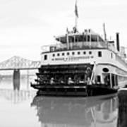 Belle Of Louisville Docked Poster