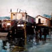 Bellingham Boats Poster