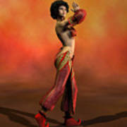 Belly Dancer Poster