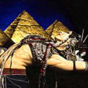 Bellydance Of The Pyramids - Rachel Brice Poster
