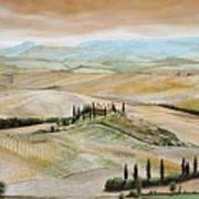 Belvedere - Tuscany Poster