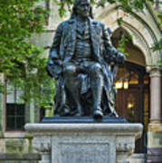 Ben Franklin At The University Of Pennsylvania Poster