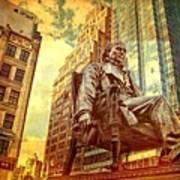 Ben In New York City Poster