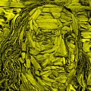 Ben In Wood Yellow Poster