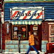 Bens Barbershop Poster