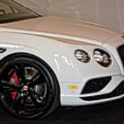 Bentley Continental Gt V8s Poster