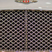 Bentley Grille And Insignia Poster