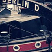 Berlin - Historischer Hafen Poster