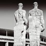 Berlin Olympiastadion - Berlin Olympic Stadium Poster