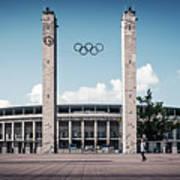 Berlin - Olympic Stadium Poster