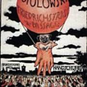 Berlin Potolowsky - Friedrichstrass Passage - Germany - Retro Travel Poster - Vintage Poster Poster