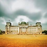Berlin Reichstag Building Poster