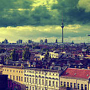 Berlin Roofscape Poster