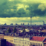 Berlin Skyline And Roofscape Poster
