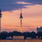 Berlin - Tempelhofer Feld Poster