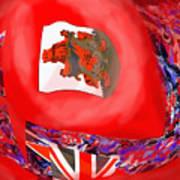 Bermuda Flags Poster