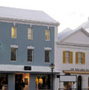 Bermuda Front Street Two Poster