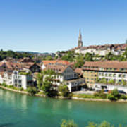 Bern, Switzerland Capital City Poster