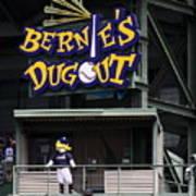 Bernies Dugout Poster